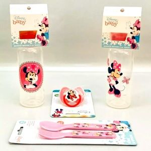 Minnie Mouse Infant BPA Free Lot of 4